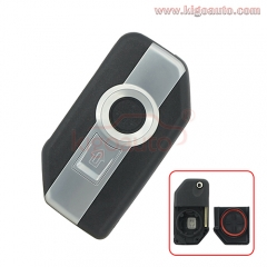 Motorcycle key for BMW R1200GS K1600GTL  flip key shell