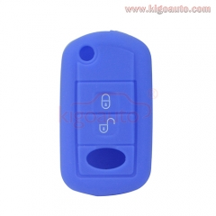 Silicone key Case shell 3 button for Land rover LR3 LR4
