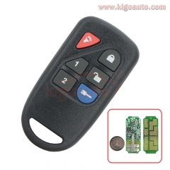 GOH-PCGEN2 Remote control 6 button 434Mhz for Ford