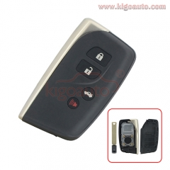 Smart key shell case for Lexus LS460 LS600h 2013 2014 HYQ14ACX