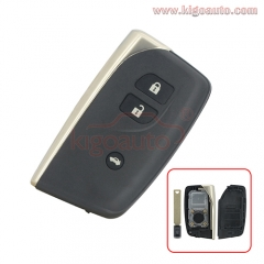 Smart key shell case 3 button for Lexus LS460 LS600h 2013 2014 HYQ14ACX