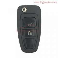 PN 1919604 5WK50165 Flip key 2 button 434mhz FSK with 4D63 80 bit chip for Ford Ranger 2011 2012 2013 2014 2015