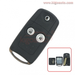 Flip remote key shell 2 button for Honda CRV Civic Jazz CE 0891 HLIK-1T