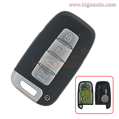 FCC SY5HMFNA04 Smart key 4 button 434Mhz ID46-PCF7952 chip for Hyundai Elantra 2012 2013