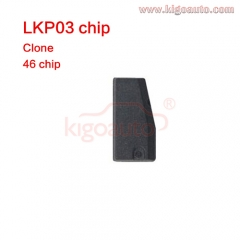 LKP03 transponder chip copy 46 Chip LKP-03 Car Key Transponder Blank carbon Chip