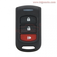 Remote fob case 3 button for toyota replacement control key shell