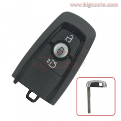 A2C11460302 smart key case 3 button for 2017 Ford Mustang HS7T-15K601-DC