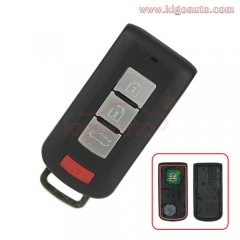 OUC644M-KEY-N smart key 3button with panic 315mhz 434mhz ID46-PCF7952 chip for 2008-2017 Mitsubishi Lancer PN: 8637A228