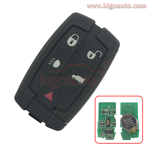 Smart key 5 buttton 315mhz or 434mhz for Landrover freelander LR2 2008 2009 2010 2011