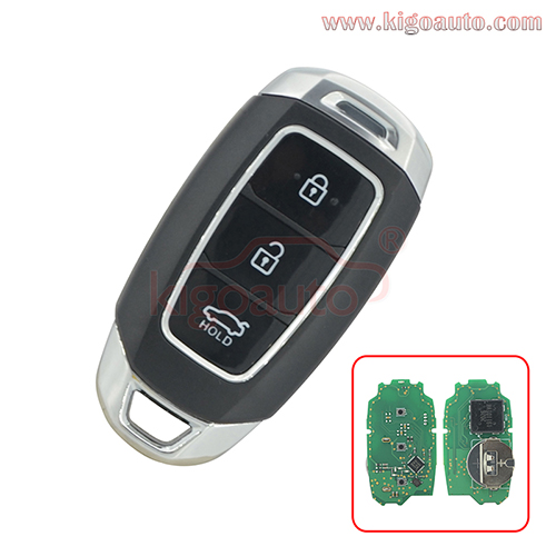 Smart key 3 button 433mhz 4A chip for Hyundai LaFesta PN 95440-J1000