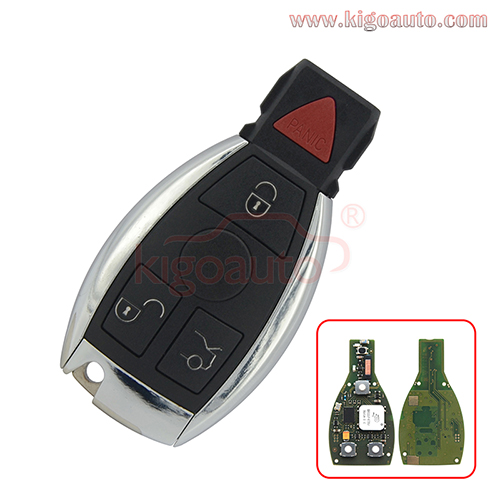 Keyless Entry Smart key 3 button with panic 315mhz for Mercedes Benz FBS3 KeylessGo PCB W204/207/212/164/166/221