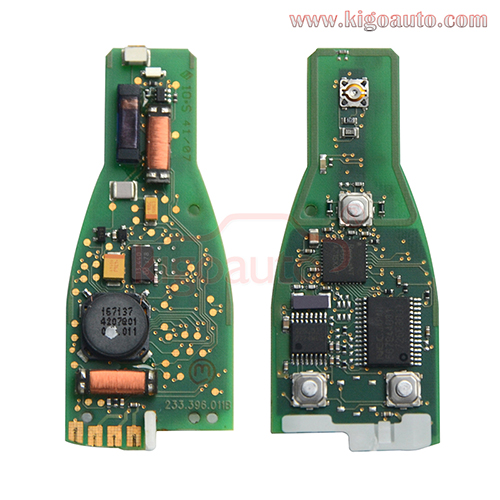 FCC KR55WK49031 smart key circuit board 4 button 315mhz for Mercedes Benz