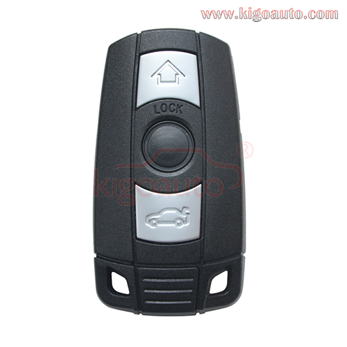 FCC KR55WK49147 Keyless key smart remote 3 button 315mhz 868Mhz ID46-PCF7953 chip for BMW 3 5 series 2006-2010(with comfort access)