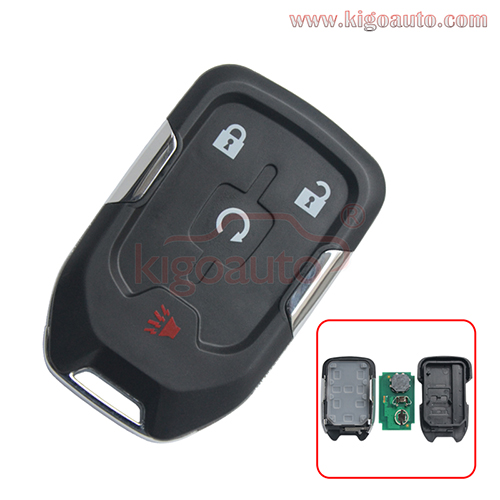 FCC HYQ1AA 315mhz Smart key HYQ1EA 433mhz ID46 chip 4 button for GMC Terrain 2018 2019