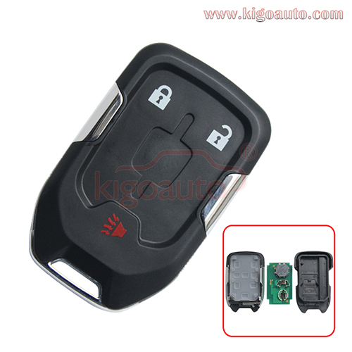 FCC HYQ1AA 315mhz Smart key HYQ1EA 433mhz ID46 chip 3 button for GMC Terrain 2018 2019