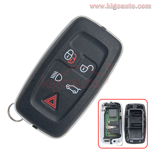 P/N AH22-15K601-AD smart key 315Mhz 434Mhz 5 button for Landrover Range Rover Sport LR4 2010 2011 2012 KOBJTF10A