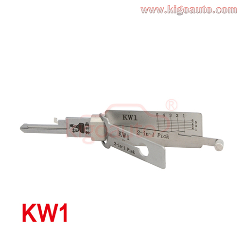 KW1 2-in-1 Pick Decoder Original Lishi Residential tool