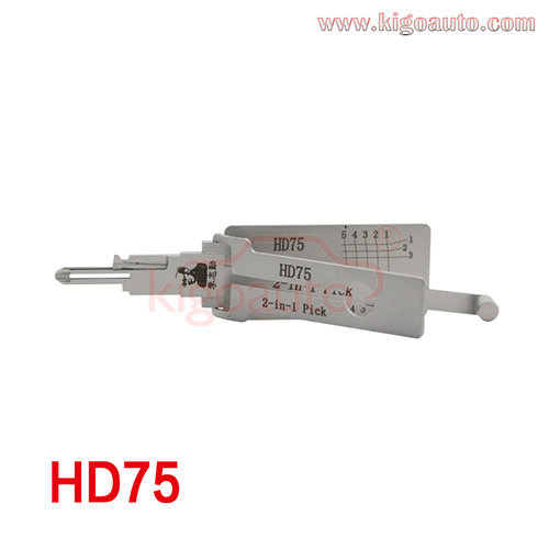 Lishi 2 in 1 Pick HD75
